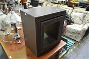 Sale 8159 - Lot 1058 - Set Of Graduated Leather Bound Side Tables