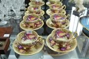 Sale 8269 - Lot 40 - Aynsley Set of 6 Cup Saucers
