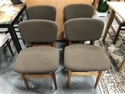Sale 8889 - Lot 1375 - Set of Four Elite Vintage Dining Chairs