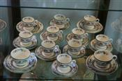 Sale 7874 - Lot 68 - Spode Chinese Rose Trios