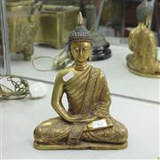 Sale 8300 - Lot 63 - Bronze Gilded Buddha Figure (Height - 27cm)
