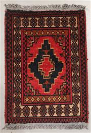 Sale 8445K - Lot 51 - Afghan Tribal Mohommadi Rug , 59x41cm, Mohommadi rugs are amongst the most well known examples of fine Afghan rug weaving.  Handwove...