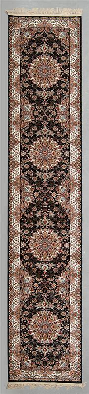 Sale 8480C - Lot 48 - Persian Machine Made Runner 400cm x 80cm