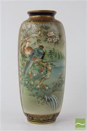Sale 8533 - Lot 36 - Fine Japanese Satsuma Vase