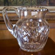 Sale 7981B - Lot 77 - 1930's hand cut lead crystal large jug