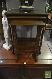 Sale 8307 - Lot 1061 - Nest of 3 Tables