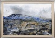 Sale 8427 - Lot 579 - John Caldwell (1942 - ) - West of the Ranges 98.5 x 148.5cm