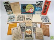 Sale 8900 - Lot 44 - Collection of Rail & Tram Ephemera most Rail Time Tables