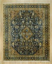 Sale 8585C - Lot 44 - Antique Persian Hariz 418cm x 330cm