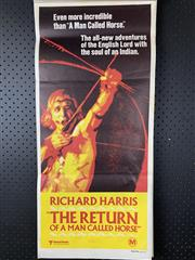 Sale 9003P - Lot 89 - Vintage Movie Poster - The Return of a Man Called Horse starring Richard Harris
