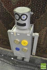 Sale 8352 - Lot 1007 - Home Made Robot