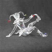 Sale 8412B - Lot 78 - Swarovski Crystal Jester with Box - Height 5.4cm