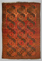 Sale 8539C - Lot 31 - Afghan Antique Turkman 300cm x 200cm