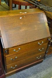 Sale 8093 - Lot 1413 - Bureau w 3 Drawers Below