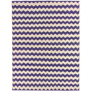 Sale 8890C - Lot 89 - Afghan Contemporary Zigzag Flatweave Carpet, 338x253cm, Handspun Ghazni Wool