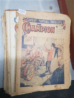 Sale 9152 - Lot 2392 - Collection the Champion Magazines, 1951