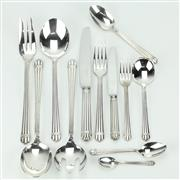Sale 8264 - Lot 10 - Christofle Aria Cutlery Setting for Ten Persons
