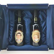 Sale 8611W - Lot 45 - 2x 1979 Wolf Blass Royal Wedding Vintage Port - in presentation box