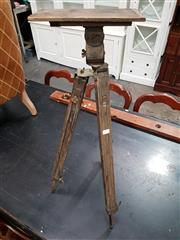 Sale 8740 - Lot 1018 - Vintage Timber Tripod