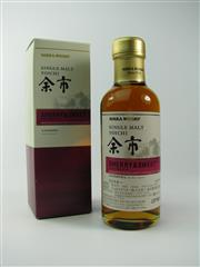 Sale 8329 - Lot 566 - 1x Nikka Whisky Yoichi Distillery - Sherry & Sweet Single Malt Japanese Whisky - 180ml in box