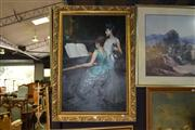 Sale 8410T - Lot 2022 - Artist Unknown (XX) - Musical Session 91 x 60cm (frame size)