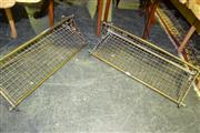 Sale 8093 - Lot 1394 - Pair of Luggage Racks