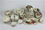 Sale 8384 - Lot 77 - Belle Fiore Tea Setting for 6 & Coffee Setting for 4 incl. other Crockery (AF)