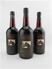 Sale 8514W - Lot 70 - 3x 1976 Yalumba Thoroughbred Series - Without Fear Vintage Port, Barossa Valley