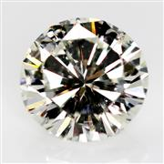 Sale 8614 - Lot 367 - AN UNSET 3.04CT ROUND BRILLIANT CUT DIAMOND; with GSL cert, AA47393 stating, colour K- SI2, good proportions and finish, strong fluo...