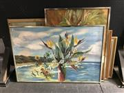 Sale 8794 - Lot 2072 - Group of (6) various paintings by E Holdsworth