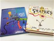 Sale 8822B - Lot 757 - 2 books on John Olsen inlc. My Complete Graphicslimited Edition 1000 copies, edition 556 signed and Salute to Five Bells 1973