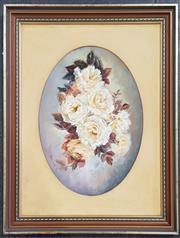 Sale 8973 - Lot 2011 - Rhonda Bradley Roses oil/paper SLL & dated 88