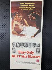 Sale 9003P - Lot 94 - Vintage Movie Poster - They Only Kill Their Masters