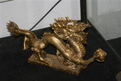 Sale 7917 - Lot 24 - Chinese Brass Figure of a Dragon