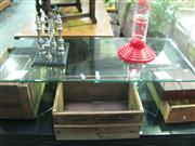 Sale 7974A - Lot 1015 - Glass Coffee Table