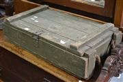Sale 8115 - Lot 1424 - Ammo Box, Long BayRifle Range