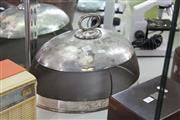 Sale 8189 - Lot 86 - Silver Plate & Mesh Meat Dome