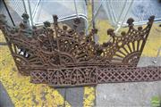 Sale 8326 - Lot 1401 - Collection Of Iron fretwork Pieces