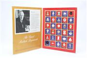 Sale 8670 - Lot 303 - The Great British Regiments Replica Badge Collection in Folder