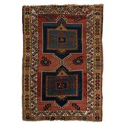 Sale 8890C - Lot 93 - Antique Caucasian Kazak (Circa 1940) Rug, 180x125cm, Handspun Wool