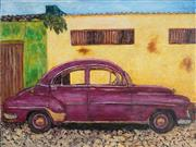 Sale 8906 - Lot 2017 - Stanley Perl Cuban Car VII acrylic on canvas, 46 x 61cm, inscribed verso -