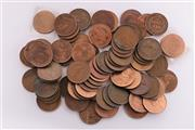 Sale 9007 - Lot 17 - Collection of Australian Pennies & Half Pennies incl 1915