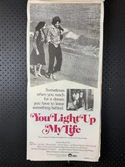 Sale 9003P - Lot 95 - Vintage Movie Poster - You Light Up My Life