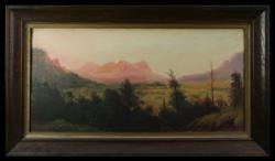 Sale 7919 - Lot 558 - Louis Frank - In the Capertree Valley 25 x 54cm