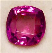 Sale 8036A - Lot 308 - AN UNSET PINK SAPPHIRE; cushion shape of 0.62ct.