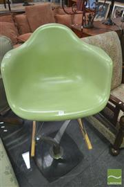 Sale 8257 - Lot 1068 - Reproduction Eames Rocking Chair