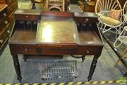 Sale 8380 - Lot 1099 - Cedar Desk with Writing Slope