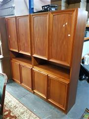Sale 8566 - Lot 1345 - Parker Wall Unit (180 x 40 x 179)
