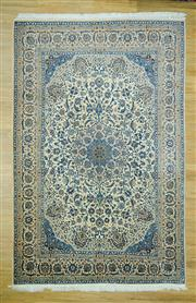 Sale 8585C - Lot 46 - Super Fine Persian Nain Silk Inlaid 322cm x 200cm