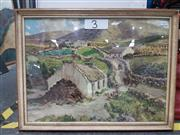Sale 8779 - Lot 2075 - Coloured Irish Scene Print